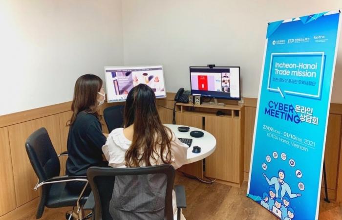 Hơn 30 doanh nghiệp Việt Nam tham gia giao thương trực tuyến với doanh nghiệp TP Incheon, Hàn Quốc