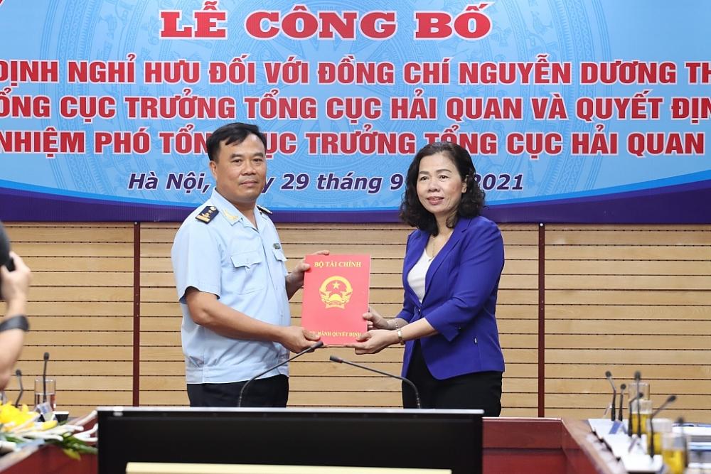 Vụ trưởng Vụ Tổ chức cán bộ Nguyễn Văn Thọ được bổ nhiệm làm Phó Tổng cục trưởng Tổng cục Hải quan