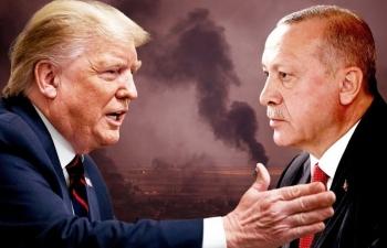 """Trump cảnh báo Tổng thống Thổ Nhĩ Kỳ: """"Đừng làm một tên ngốc!"""""""