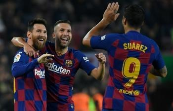 Messi rực sáng, Barca trở lại ngôi đầu La Liga