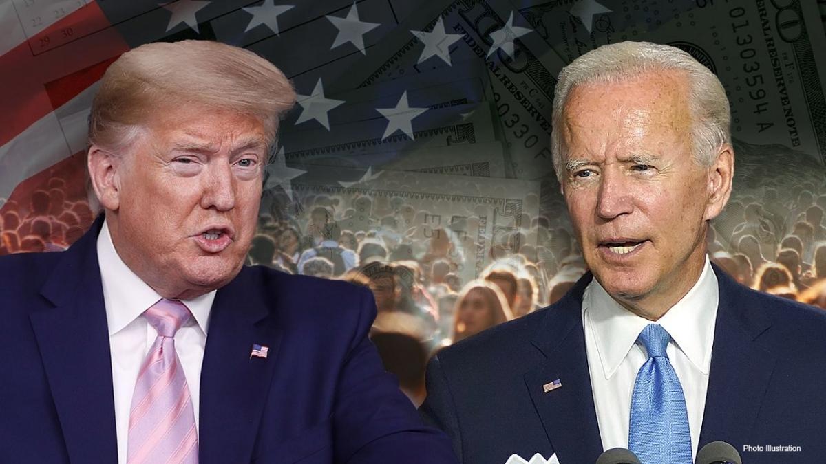 Hai ứng cử viên Tổng thống Mỹ. Ảnh: Fox News