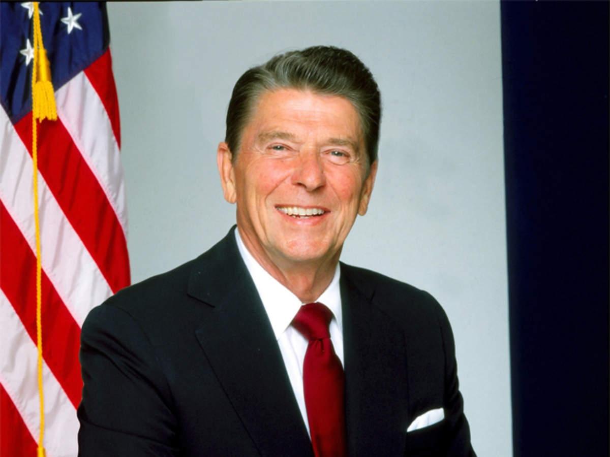 Cựu Tổng thống Ronald Reagan. Ảnh: Getty