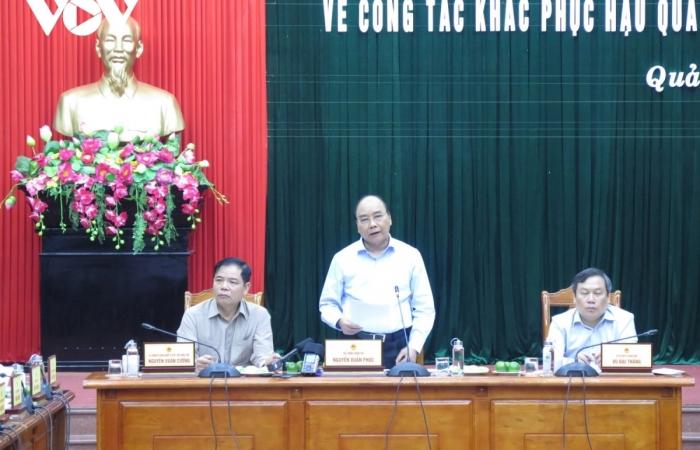 Thủ tướng nêu nhiều bài học quan trọng trong phòng, chống mưa lũ