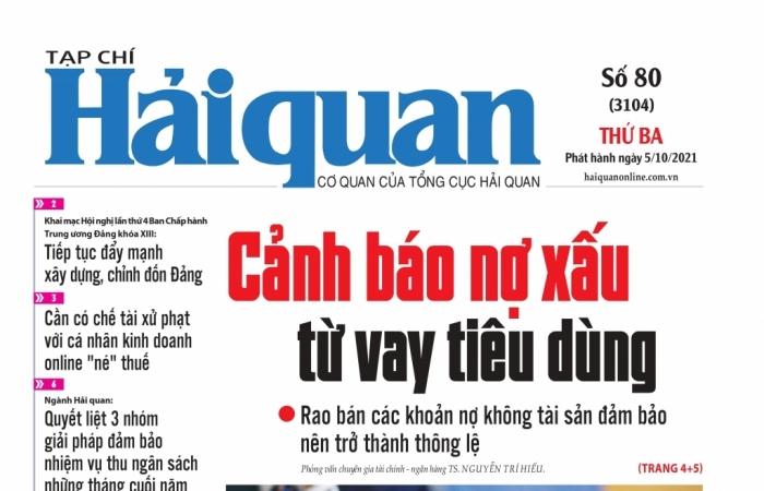 Những tin, bài hấp dẫn trên Tạp chí Hải quan số 80 phát hành ngày 5/10/2021