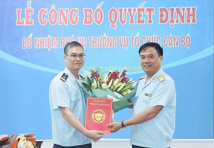 Bổ nhiệm Phó Vụ trưởng Vụ Tổ chức cán bộ, Tổng cục Hải quan