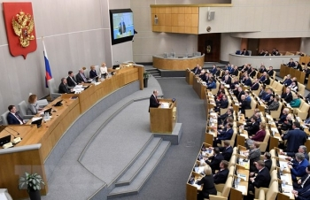 Nghị viện Nga dẫn đầu bảng xếp hạng của thế giới về tính cởi mở