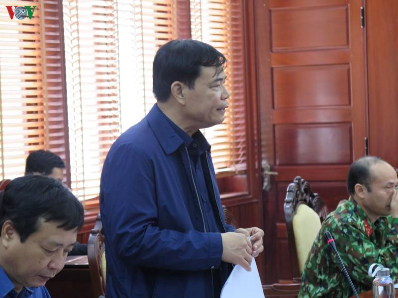 khong duoc lo la chu quan trong cong tac ung pho voi bao so 6
