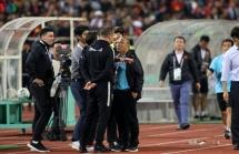 Trợ lý HLV Thái Lan có thể mất việc vì khiêu khích HLV Park Hang Seo