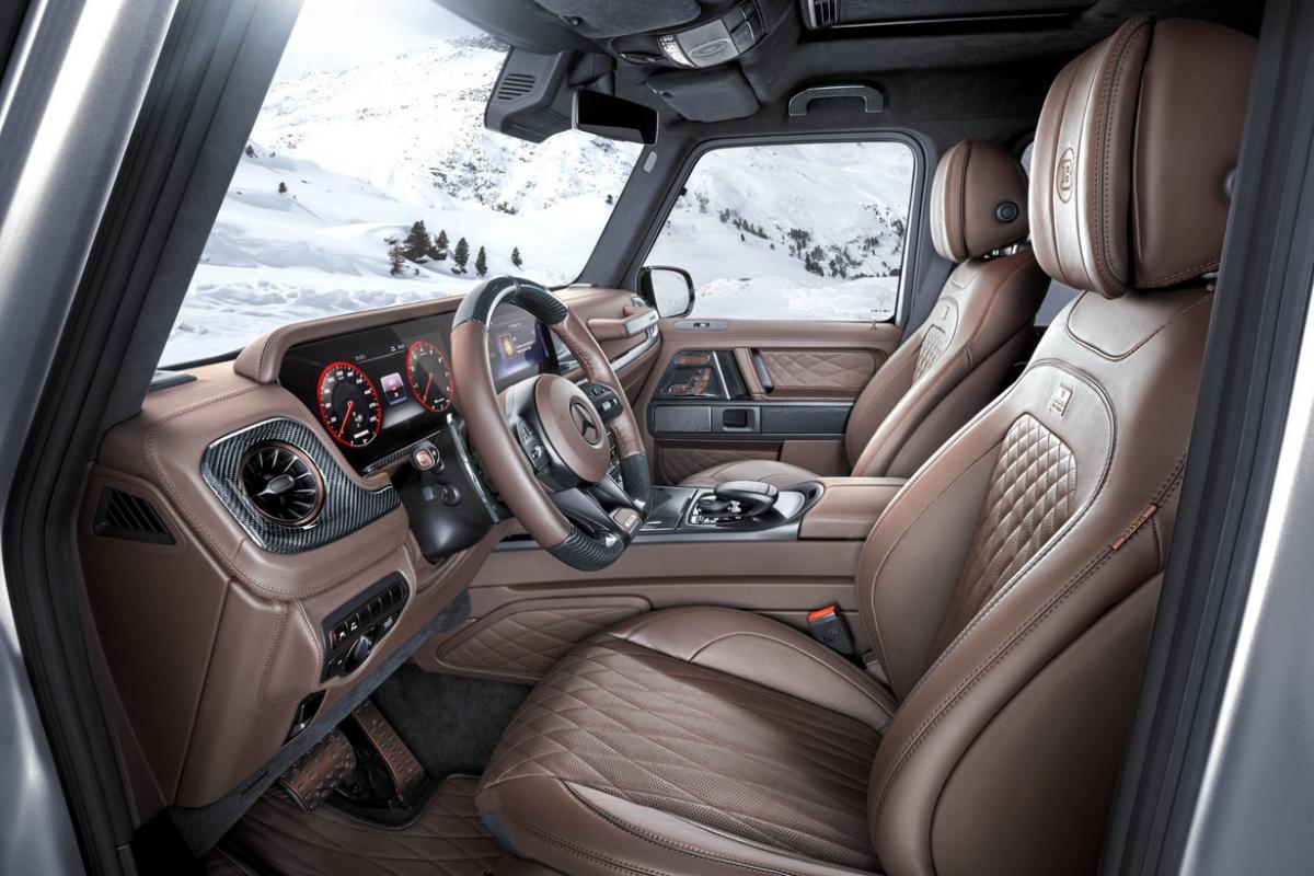 Chi tiết Mercedes-AMG G63 có giá