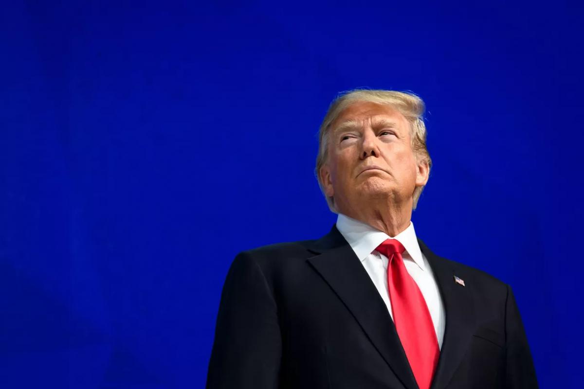 Tổng thống Donald Trump. Ảnh: AFP
