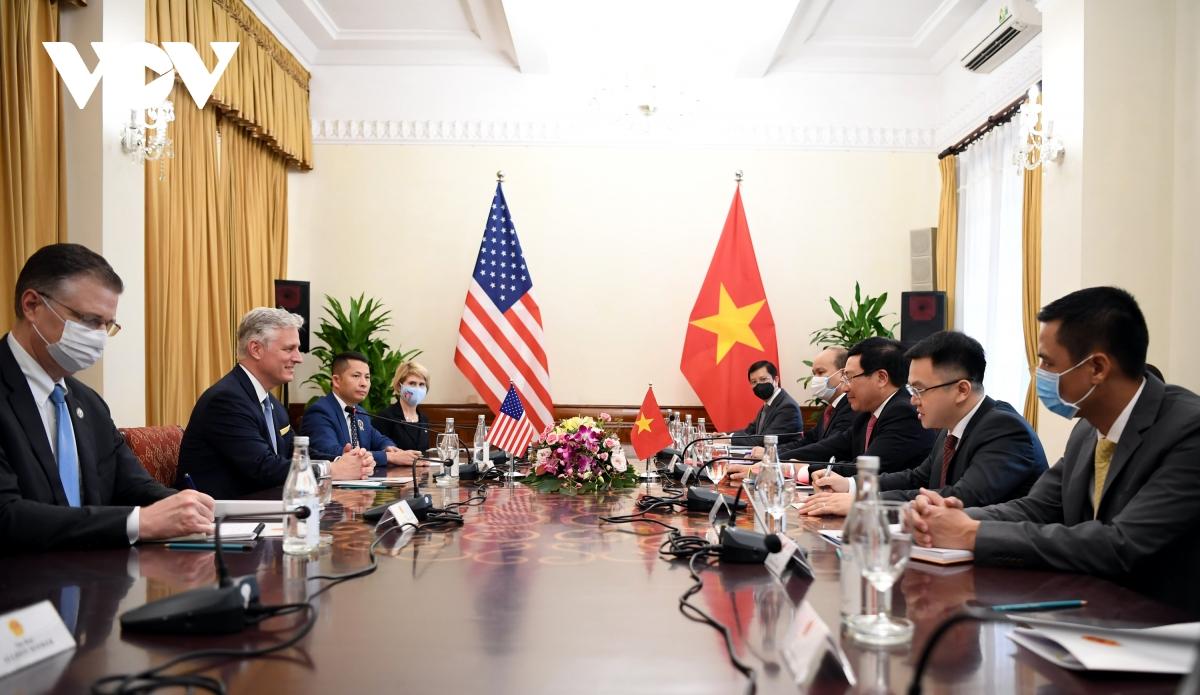Quan hệ Việt Nam - Hoa Kỳ chưa bao giờ phát triển mạnh mẽ như hiện nay