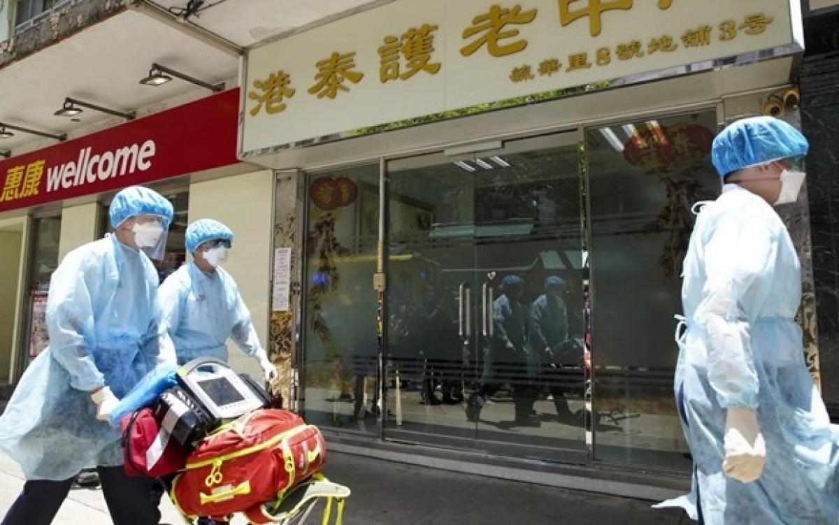 Hong Kong thời Covid-19. Ảnh: SCMP.