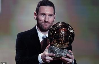 Messi giành Quả bóng Vàng 2019, lập kỷ lục
