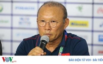 """Dư âm U22 Việt Nam 1-0 U22 Singapore: Thầy Park vẫn là """"thần may mắn"""""""
