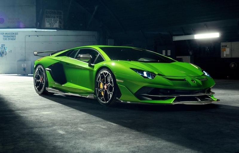 Ngắm Lamborghini Aventador SVJ sau khi qua tay hãng độ Novitec