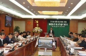 Đề nghị kỷ luật một số tập thể, cá nhân liên quan đến dự án gang thép Thái Nguyên