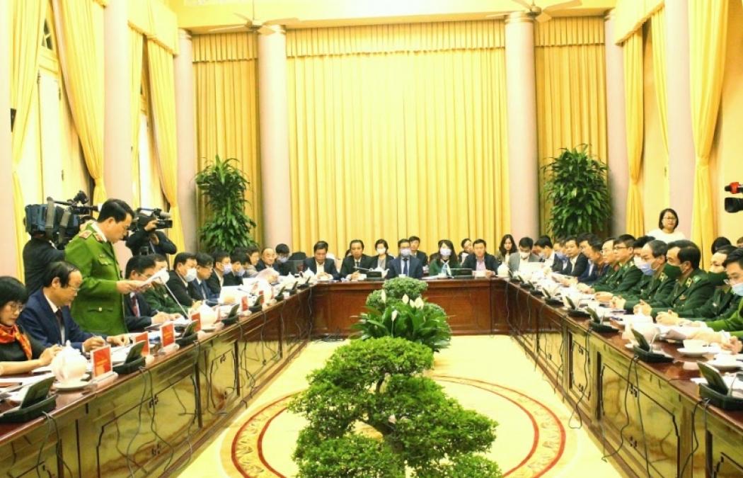 Họp báo công bố Lệnh của Chủ tịch nước ban hành 10 luật