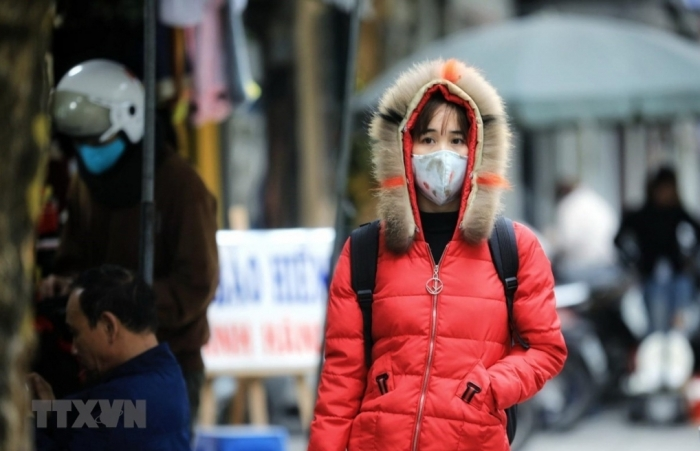 Vùng núi Bắc Bộ rét đậm, rét hại, có nơi nhiệt độ dưới 5 độ C