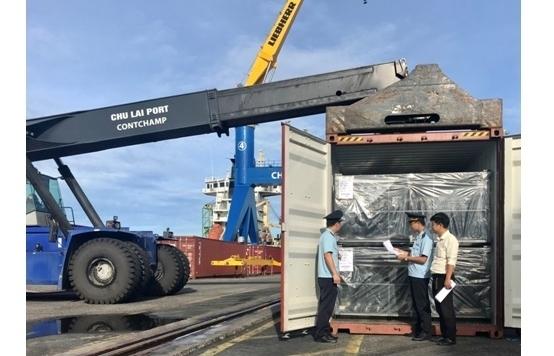 """Hải quan Quảng Nam chạy """"nước rút"""" hoàn thành chỉ tiêu thu thuế"""
