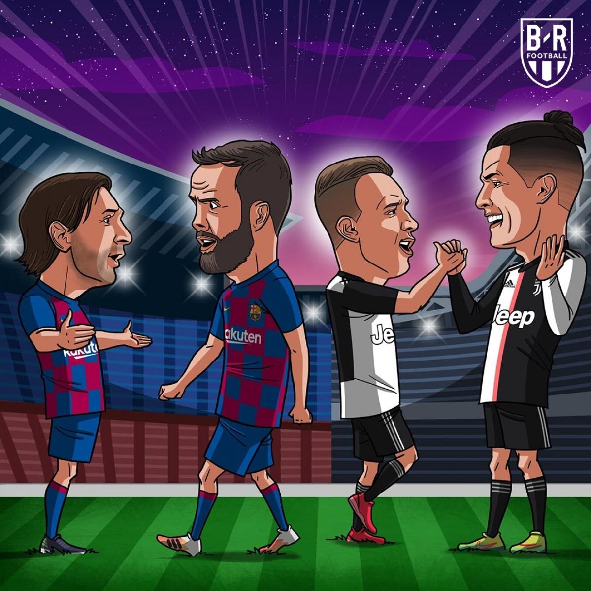 Thương vụ trao đổi khó tin Miralem Pjanic - Arthur giữa Barca và Juventus.