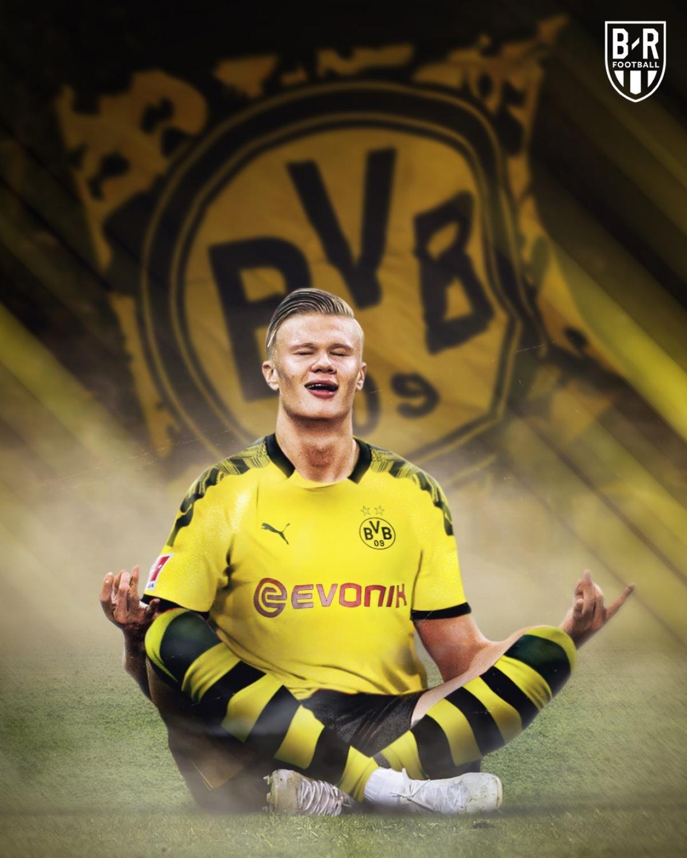 Erling Haaland đưa Dortmund lên tầm cao mới sau khi chuyển đến từ Salzburg hồi tháng Giêng.