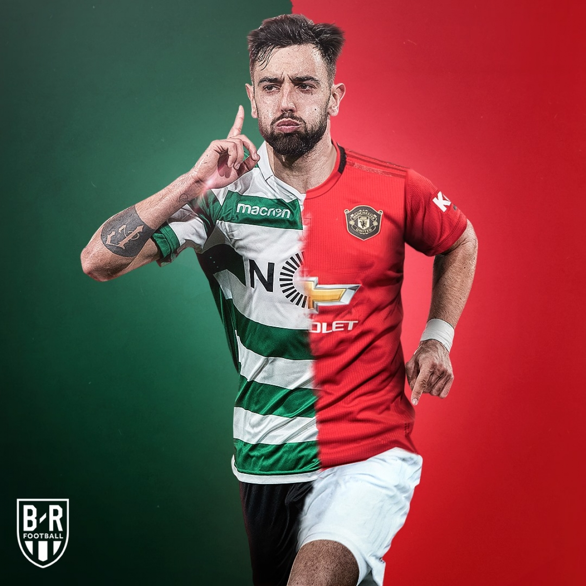 Bruno Fernandes đến từ Sporting ở kỳ chuyển nhượng tháng Giêng và giúp MU hồi sinh mạnh mẽ.