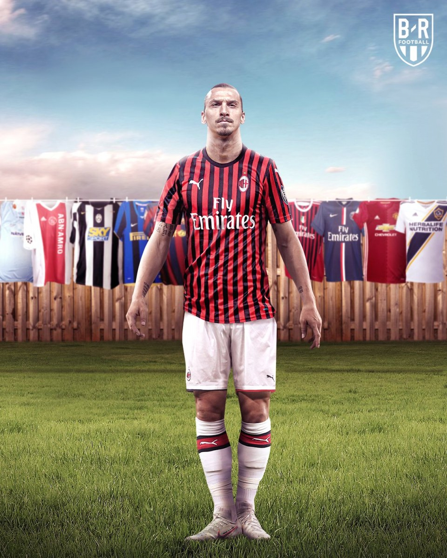 Zlatan Ibrahimovic tái hợp với AC Milan và mang những ngày tháng tươi đẹp trở lại.
