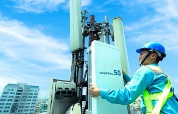 Viettel phát sóng trạm 5G đầu tiên của Việt Nam
