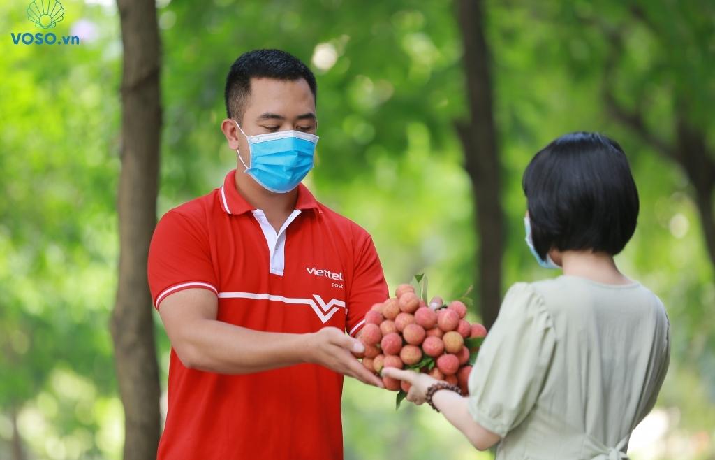 Voso đưa vải thiều Bắc Giang đến tay người dùng chỉ từ 6 giờ sau thu hoạch