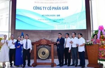13.800.000 cổ phiếu Công ty Cổ phần GAB chính thức giao dịch trên HoSE