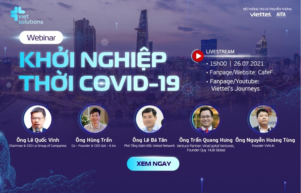Tìm lối đi cho startup thời Covid-19
