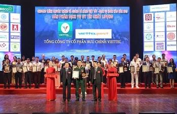 Ứng dụng Viettel Post lọt TOP 10 sản phẩm dịch vụ hàng đầu Việt Nam