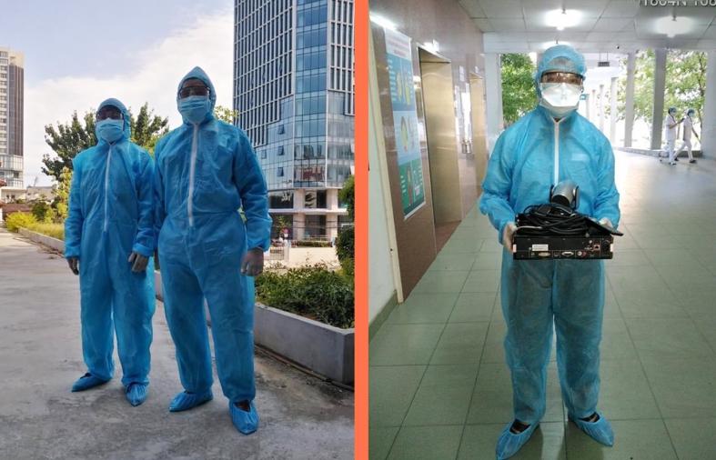 Viettel hoàn thành phủ sóng 4G bệnh viện dã chiến tại Đà Nẵng