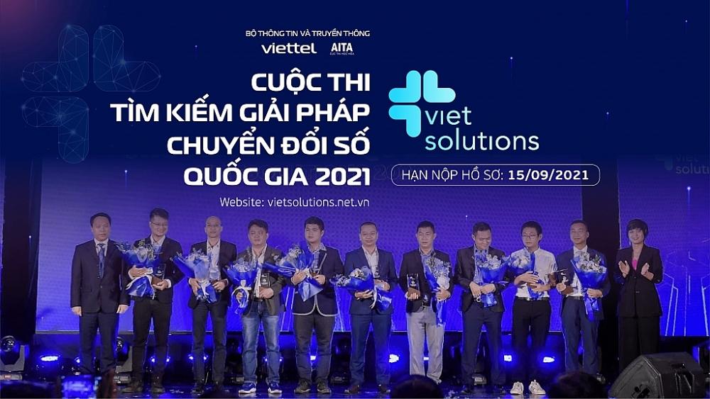 Cuộc thi Viet Solutions 2021 gia hạn nộp hồ sơ dự thi đến hết ngày 15/9