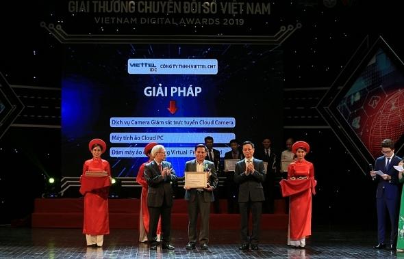 Viettel IDC: Nhà cung cấp dịch vụ điện toán đám mây duy nhất đạt giải thưởng Chuyển đổi số 2019