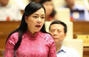 Quốc hội sẽ miễn nhiệm chức Bộ trưởng Bộ Y tế đối với bà Nguyễn Thị Kim Tiến