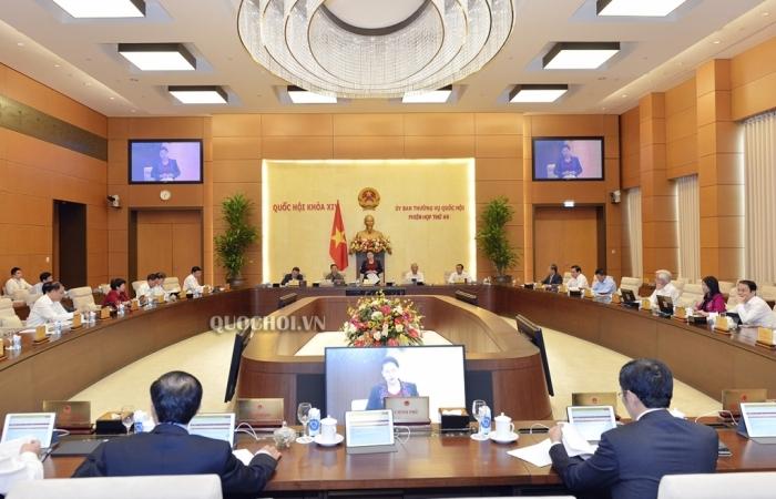 Phiên họp thứ 49 của Ủy ban Thường vụ Quốc hội sẽ bàn về công tác nhân sự