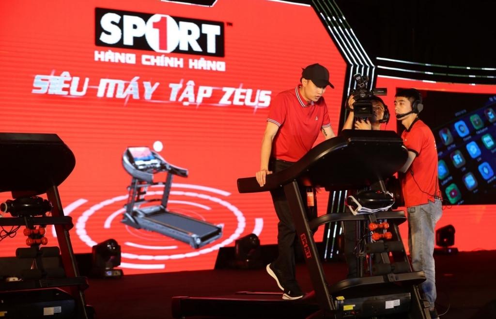 Công ty Thể thao Đức Trung ra mắt bộ đôi máy tập công nghệ số