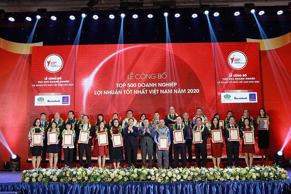 Lễ công bố Top 500 doanh nghiệp có lợi nhuận tốt nhất Việt Nam