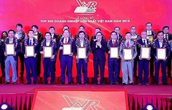 Honda Vietnam và TCT Hàng không Việt Nam rơi khỏi top 10 doanh nghiệp lớn nhất