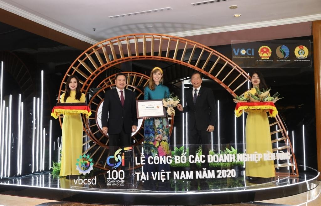 HEINEKEN Việt Nam liên tiếp lọt top 3 doanh nghiệp bền vững nhất Việt Nam