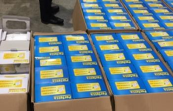 Tiếp tục điều tra vụ xuất lậu khẩu trang y tế tại sân bay quốc tế Nội Bài