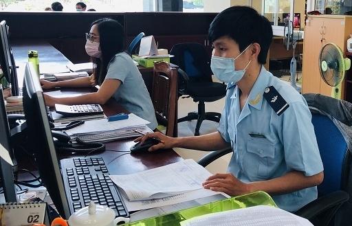Hải quan Đà Nẵng khẩn trương tiến hành các biện pháp ứng phó với bão số 9