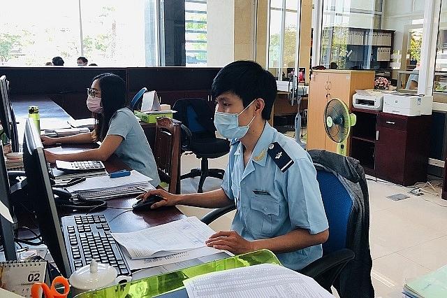 Hoạt động nghiệp vụ tại Hải quan Đà NẵngẢnh: HQĐN
