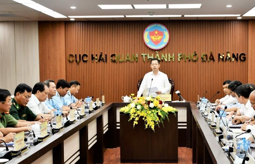 Bí thư Thành ủy TP Đà Nẵng làm việc với Cục Hải quan Đà Nẵng