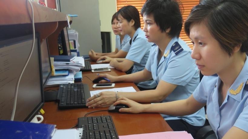 Nhóm hàng máy móc, thiết bị giúp Hải quan Hà Nội tăng số thu trong tháng 9