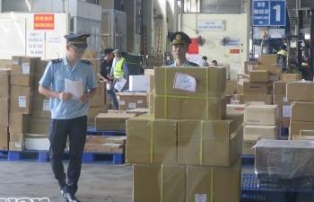 Hải quan Hà Nội thu hơn 41 tỷ đồng từ xử phạt vi phạm hành chính