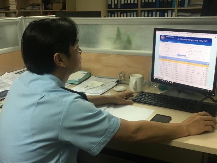 99,57% hàng hóa được quản lý, giám sát hoàn toàn tự động tại Nội Bài