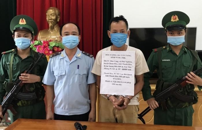 Hải quan Thanh Hóa phối hợp bắt giữ hơn 1.000 viên hồng phiến