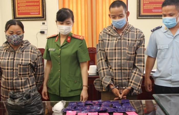 Cục Hải quan Thanh Hóa phối hợp bắt giữ 4 đối tượng,  5.600 viên ma túy tổng hợp